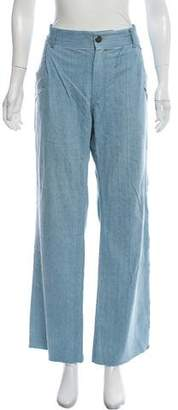 Baja East High- Rise Wide-Leg Jeans
