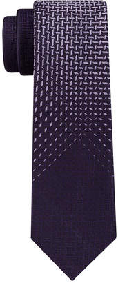 Kenneth Cole Reaction Men Fade Out Panel Skinny Tie