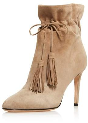 Kate Spade Women's Dillane Pointed Toe Suede High-Heel Booties