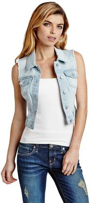 Factory Guess Women's Amery Denim Vest