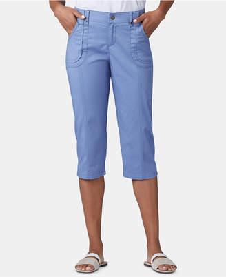 Lee Platinum Petite Patch Pocket Capri Pants