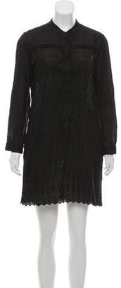 Boy By Band Of Outsiders Embroidered Mini Dress