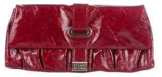 Stuart Weitzman Patent Leather Clutch