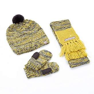 Peppercorn Kids Pom-Pom Beanie Set