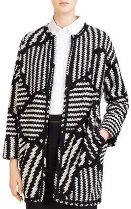 Gerard Darel Marla Graphic-Knit Jacket