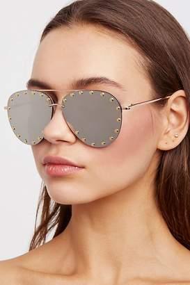 Star Struck Studded Aviator Sunglasses