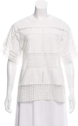 Chloé Silk Embroidered Top