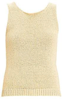 Theory Women's Merletto Sleeveless Knit Shell