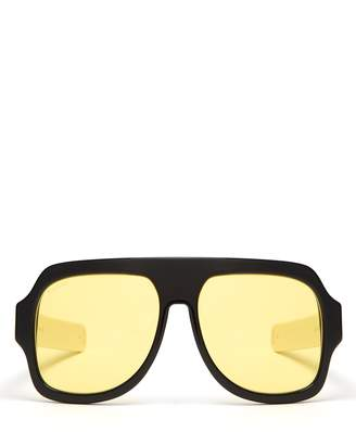 Gucci D-frame acetate sunglasses