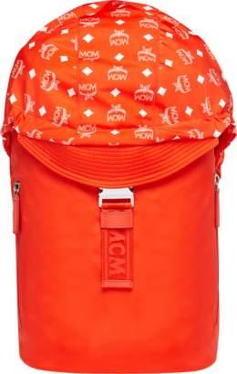 MCM Luft Hoodie Backpack In Nylon