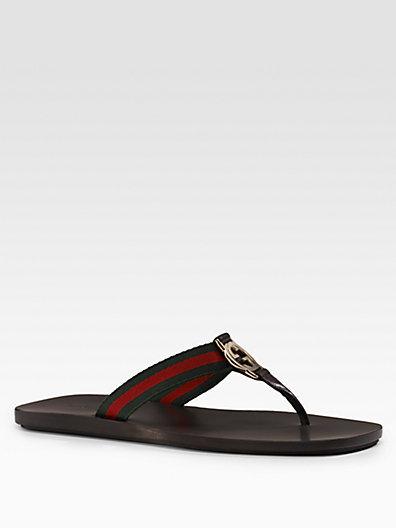 Gucci GG Thong Sandals