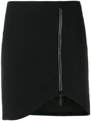 David Koma crystal-embellished skirt