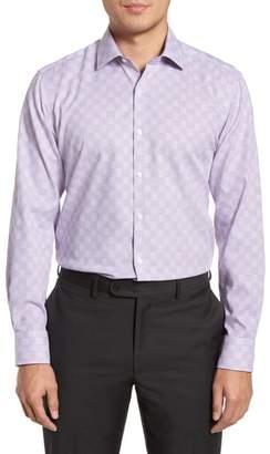 Tailorbyrd Haper Trim Fit Plaid Dress Shirt