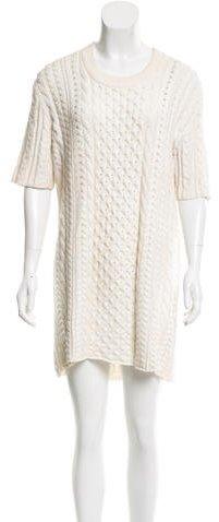 Burberry Burberry Brit Knit Mini Dress
