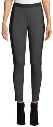 Eileen Fisher Herringbone Ankle Leggings