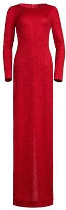 St. John Jacquard Knit Gown