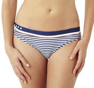Cleo Women's Lucille Brief Bikini Bottoms,Size