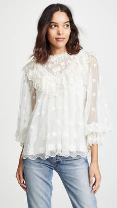 Ulla Johnson Lucien Blouse