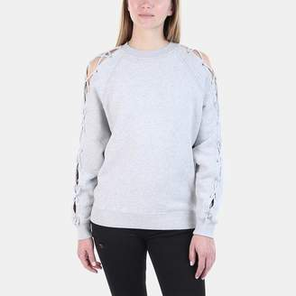 Iro . Jeans Iro Jeans Nakina Lace-Up Crew Neck Sweatshirt