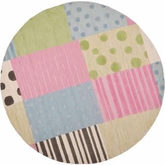 Safavieh Kids Roxanne Hand-Tufted Area Rug, Blue/Pink