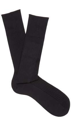 Falke N10 Cotton Socks - Mens - Navy