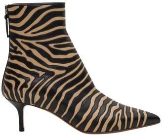 Francesco Russo Zebra Boots