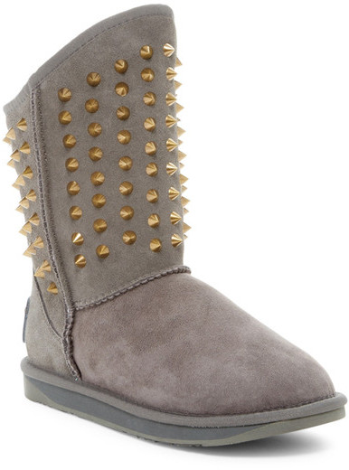 Australia Luxe Collective Australia Luxe Collective Pistol Short Studded Genuine Shearling Boot