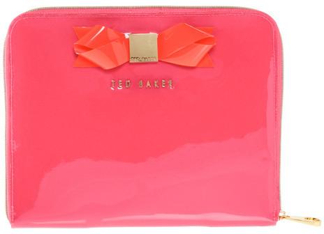 Ted Baker Tabcon iPad Case Deep Pink