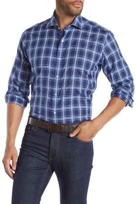 Peter Millar Paradise Plaid Regular Fit Shirt