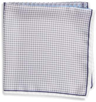 Nordstrom Four Panel Silk Pocket Square