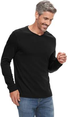 Croft & Barrow Men's Classic-Fit Easy-Care V-Neck Tee