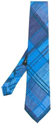 Etro checked design tie