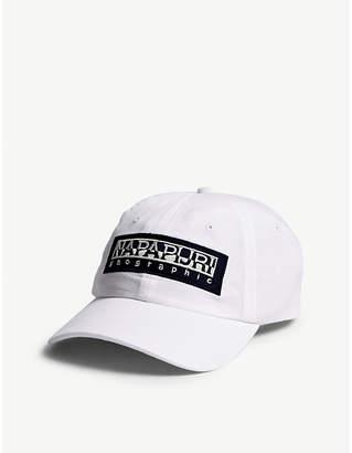 Napapijri Logo cotton strapback cap