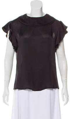 Ter Et Bantine Silk Short Sleeve Top