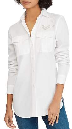 Ralph Lauren Patch-Detail Shirt