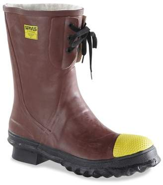 Ranger Insulated Steel Toe Boots, Poly Rubber, Size 12