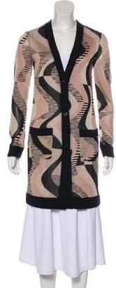 Missoni Metallic Knit Cardigan