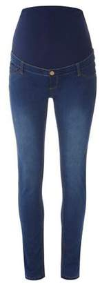 Dorothy Perkins Womens **Maternity Blue Over Bump Vintage Jeans
