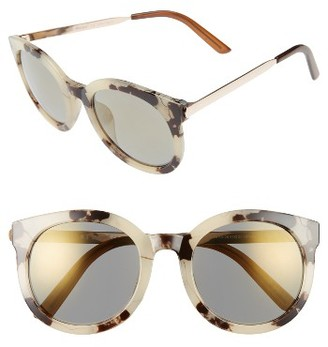 Women's A.j. Morgan Cat D 53Mm Sunglasses - Grey Tortoise $24 thestylecure.com