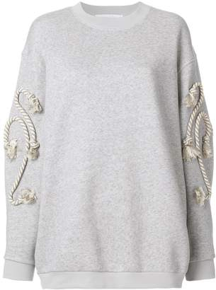 See by Chloe rope detail sweatshirt