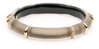 Alexis Bittar Liquid Striped Hinge Bracelet