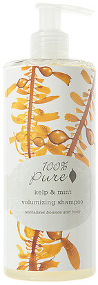 100% Pure Kelp & Mint Volumizing Shampoo.