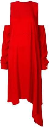 Marios asymmetric hem dress