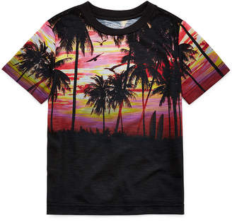 Arizona Short Sleeve Crew Neck T-Shirt-Boys 4-20
