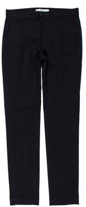 Julien David Tailored Straight-Leg Pants