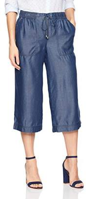 Jones New York Women's Updated Tencel Denim Gaucho