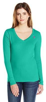 U.S. Polo Assn. Juniors' Ribbed V-Neck T-Shirt