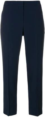 Alexander McQueen cigarette cropped trousers