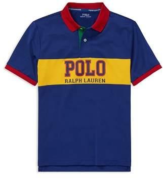 Ralph Lauren Boys' Contrast Performance Polo - Big Kid