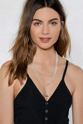 Nasty Gal For Infinity Layered Necklace
